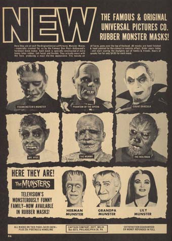 Gallery: Vintage Monster MagazineAds