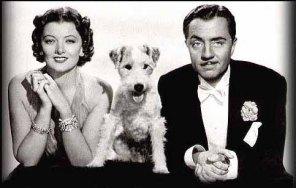 Nick and Nora Charles (and Astor!)