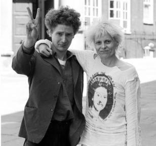 Malcolm McLaren and Vivienne Westwood
