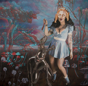 latex-alice-and-the-black-rabbit_oiloncanvas_146x140cm_2016-1