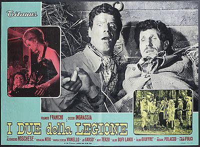CINEMA-fotobusta-I-DUE-DELLA-LEGIONE-franchi-ingrassia