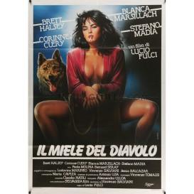 devil-s-honey-movie-poster-39x55-in-italian-1986-lucio-fulci-corinne-clery