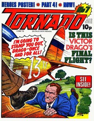 Gallery: Tornado Comic