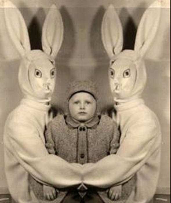 Gallery: Horrific Vintage Easter Bunny Encounters