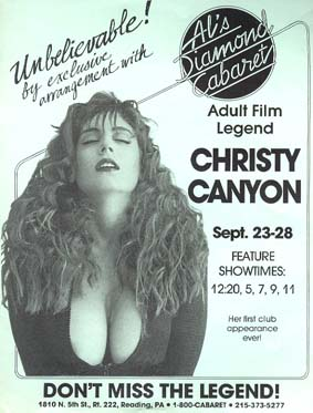 Al's Diamond Cabaret – 1990s Strip Club Posters