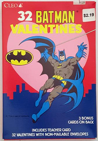 batman cards 1990