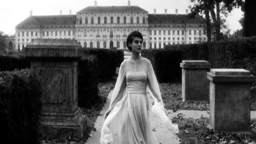 Delphine Seyrig in Last Year at Marienbad. Photo Courtesy Rialto Pictures.