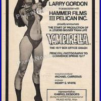 Hammer's Vampirella -The Pioneering Comic Book Movie That Never Was