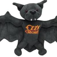 Ozzy Osbourne's Commemorative Plush Bat